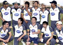 Mumbai CCL team parties even after losing