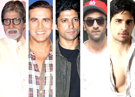 Big B, Akshay, Farhan, Ranbir and Sidharth together