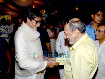 Amitabh Bachchan, Tinu Anand, Abbas Burmawalla