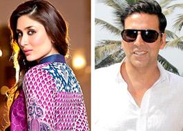 Kareena with Akshay Kumar in Singh Is Bling