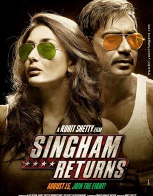 Singham Returns Cover