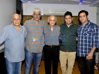 Mahesh Bhatt, Vikram Bhatt, Mukesh Bhatt, Bhushan Kumar, Ajay Kapoor