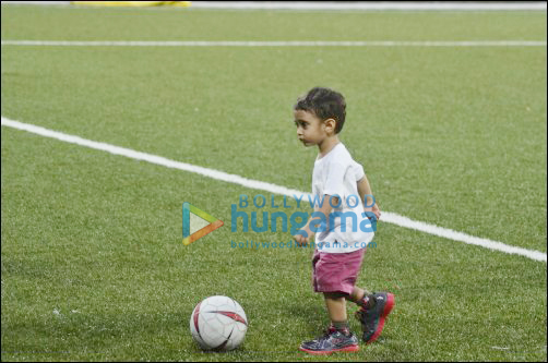 Check out: Aamir, Hrithik, Abhishek play football for charity