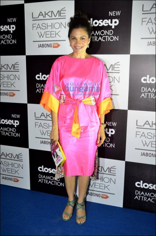 Check out: Celebs at Lakme Fashion Week W/F Opening show
