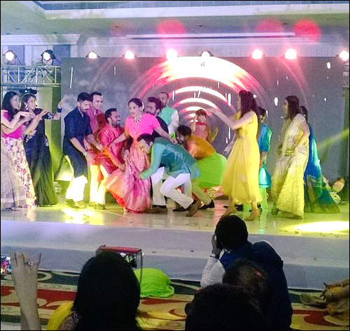 Check out: The star studded sangeet ceremony of Madhu Mantena and Masaba Gupta