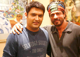Live recording for The Kapil Sharma Show with Shah Rukh Khan
