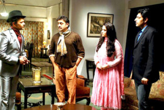 Movie Still From The Film Gumshuda,Raj Zutshi,Simone Singh,Priyanshu Chatterjee