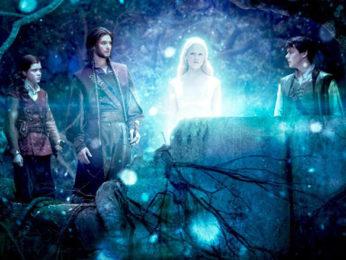 Movie Still From The Film The Chronicles of Narnia - 3,Georgie Henley,Ben Barnes,Skandar Keynes