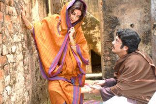 Movie Still From The Film Nauka Dubi,Riya Sen,Jishu Sengupta