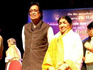 Photo Of Hridayanath Mangeshkar,Lata Mangeshkar From The Lata Mangeshkar at Hridayesh Festival