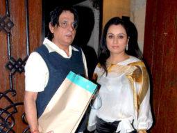 Photo Of Tutu Sharma,Padmini Kolhapure From The Bollywood celebs at Anil Kapoor's birthday bash