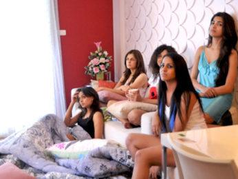 Movie Still From The Film United Six,Isha Batwe,Luna Lahkar,Parvathy Omanakuttan,Pooja Sharma