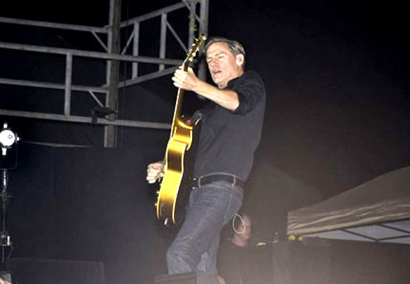 Photo Of Bryan Adams From The Rani, Deepika and Preity grace Bryan Adams Live In Concert