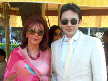 Photo Of Maureen Wadia,Ness Wadia From The Ness Wadia with Gladrags models at CN Wadia Cup
