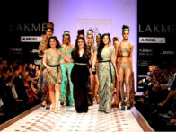 Photo Of Perizaad Zorabian,Pria Kataria Puri,Namrata Barua From The Perizaad walks the ramp for Pria Kataria Puri at 'Lakme Fashion Week 2011' Day 4