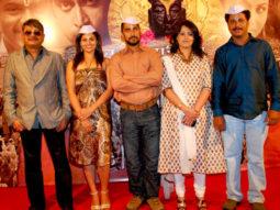 Photo Of Sunil Khosla,Sukhada Yash,Chinmay Mandlekar,Vibha Dutta Khosla,Ajit Bhairavkar From The Uddhav and cast grace music launch of 'Gajaar - Journey of the soul'
