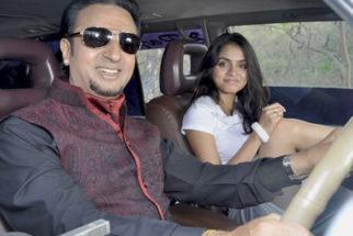 On The Sets Of The Film Raqt-Ek Rishta Featuring Shweta Bhardwaj,Sheena Shahabadi,Shakti Kapoor,Gulshan Grover,Farida Jalal,Arjun Mahajan