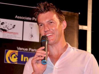 Photo Of Brett Lee From The Brett Lee performs at Inorbit Mall
