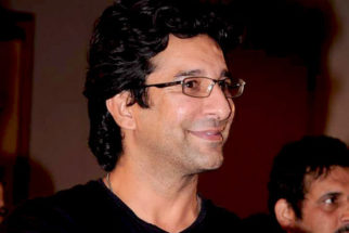 Photo Of Wasim Akram From The MS Dhoni and other cricketers at Harsha Bhogle's book launch