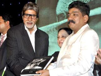 Photo Of Amitabh Bachchan,Nitin Chandrakant Desai From The Amitabh Bachchan unveils Nitin Desai's book at his 25th year celebrations