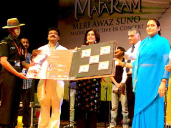Photo Of Robby,Zeenat Aman,General V K Singh,Bharti,Madhushree From The General V K Singh at release of Madhushree's patriotic album
