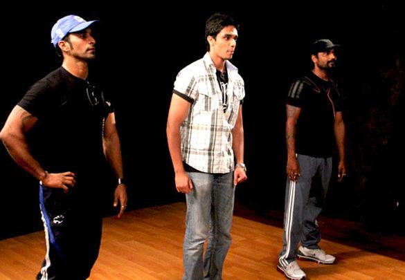 Photo Of Nayab,Remo D'Souza From The Anushka meets contest winners of UTV STARS'