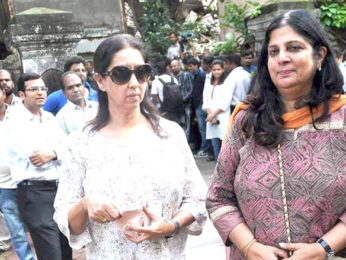 Photo Of Neena Kulkarni From The Bollywood bids farewell to photographer Gautam Rajadhyaksha