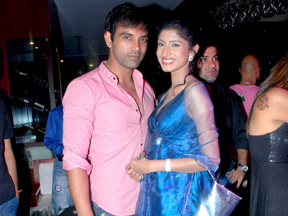 Photo Of Dakshya,Vidhya From The Completion party of 200 episodes of TV show 'Maryada.....Lekin Kab Tak'