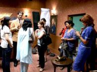 On The Sets Of The Film Gandhi To Hitler Featuring Neha Dhupia,Raghuveer Yadav,Aman Verma,Lucky Vakharia,Nassar Abdulla,Avijit Dutt,Nikita Anand,Nalin Singh