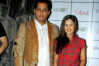 Photo Of Mandeep Khurana,Nandini Singh From The Launch of 'CAVE - The Fine Dining'