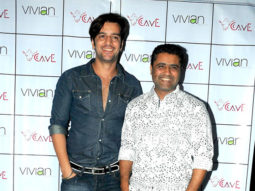 Photo Of Kapil,Vivek Sharma From The Launch of 'CAVE - The Fine Dining'