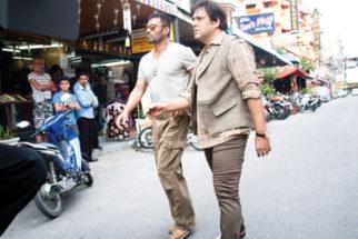 Movie Still From The Film Loot,Suniel Shetty,Govinda