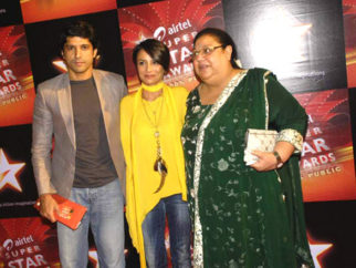 Photo Of Farhan Akhtar,Adhuna Akhtar,Honey Irani From The Airtel Star Super Star Awards