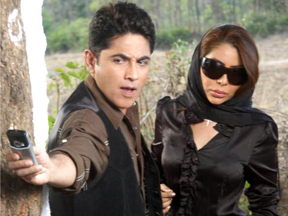 Movie Still From The Film Faraar,Asif Shaikh,Laila Khan
