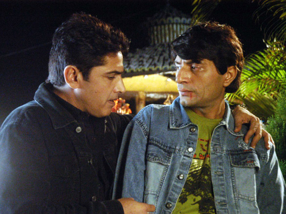Movie Still From The Film Faraar,Asif Shaikh