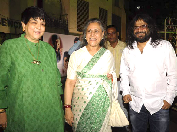 Photo Of Kalpana Lajmi,Jaya Bachchan,Pritam Chakraborty From The Jaya Bachchan and Shabana Azmi at Bhupen Hazarika tribute
