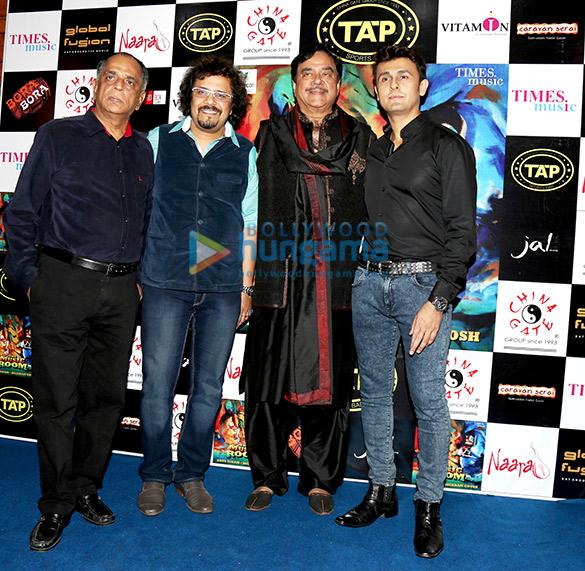 Pahlaj Nihalani, Bickram Ghosh, Shatrughan Sinha, Sonu Nigam