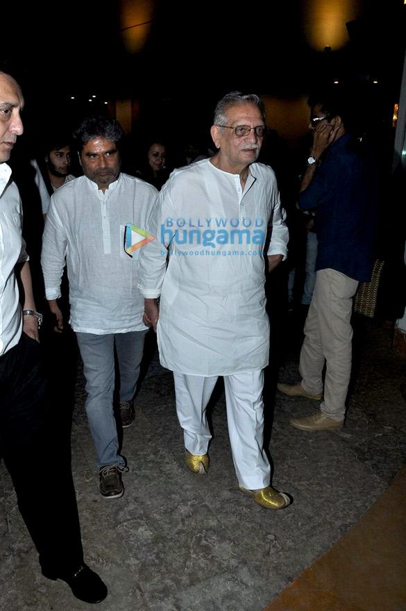 Vishal Bhardwaj, Gulzar