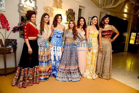 Sunidhi Chauhan, Shibani Dandekar, Falguni Peacock, Krishika Lulla, Anchal Kumar, Manasi Scott