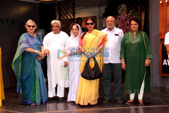 Javed Akhtar, Neela Devi, Shabana Azmi, Shyam Benegal, Pia Benegal