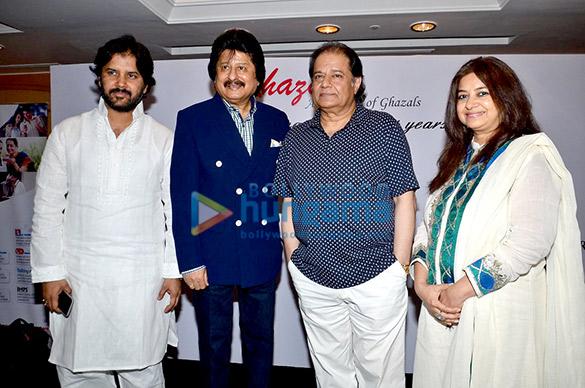 Javed Ali, Pankaj Udhas, Anup Jalota, Rekha Bharadwaj