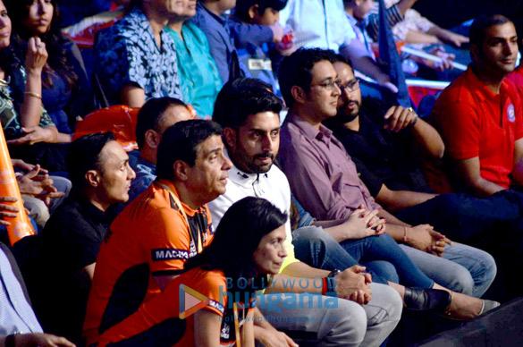 Zarina Mehta, Ronnie Screwvala, Rahul Bose, Abhishek Bachchan