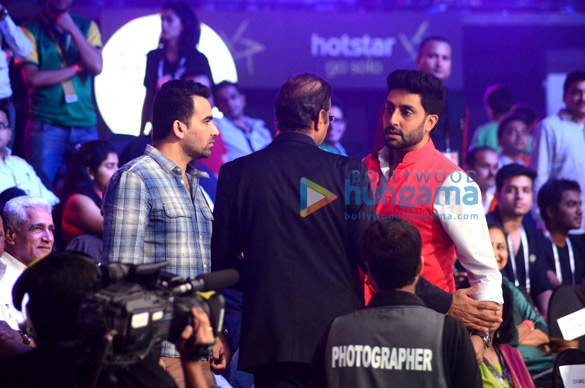 Zaheer Khan, Charu Sharma, Abhishek Bachchan