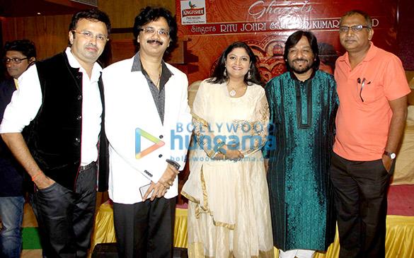 Nikhil Kamath, Jeetu Shankar, Ritu Johri, Roop Kumar Rathod, Ratnakar Kumar
