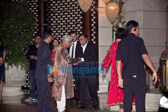 Javed Akhtar, Mukesh Ambani
