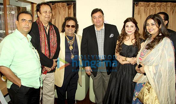 Yogesh Lakhani, Bhupinder Singh, Bappi Lahiri, Rishi Kapoor, Sapna Mukherjee, Mitali Mukherjee