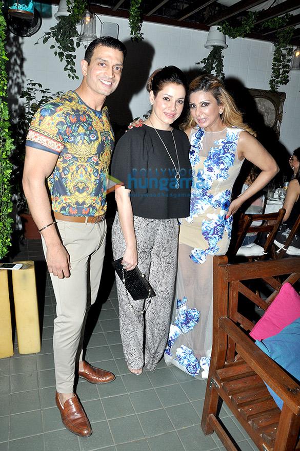 Timmy Narang, Neelam Kothari, Ramona Narang