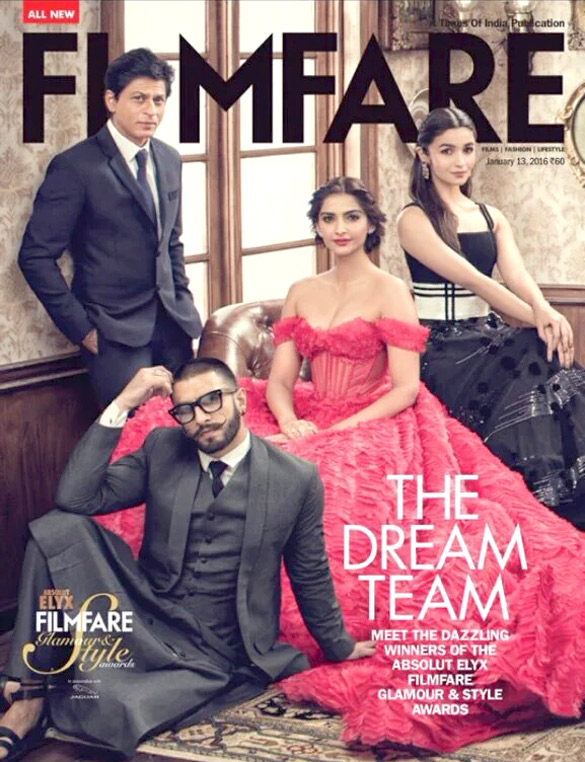 Amy Jackson On The Cover Of Filmfare,Dec 2015