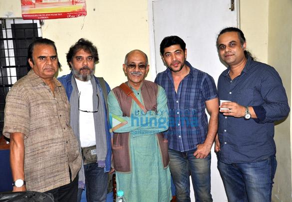 Suneel Sinha, Deepak Qazir, Dillzan Wadia, Aashish Rego