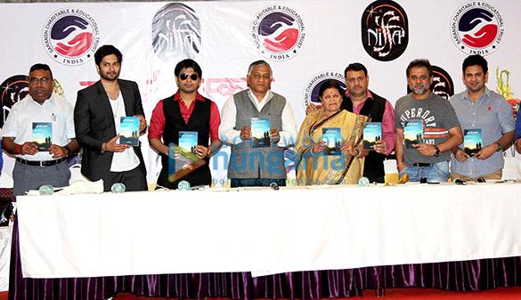 Ali Fazal, Ankit Tiwari, V.K. Singh, Kamla Mishra, Nitin Mishra, Anees Bazmee, Manoj Muntashir